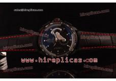 Tag Heuer Grand Carrera Calibre 36 Chrono CAV51852-FC6225 Swiss Valjoux 7750 Automatic Titanium Black Dial